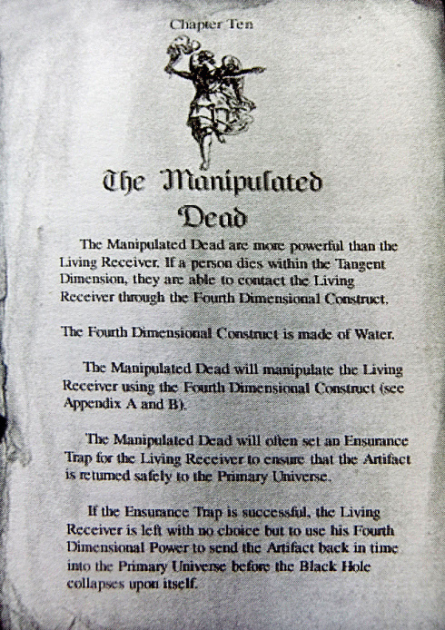 The manipulated dead | The Time Travel Nexus